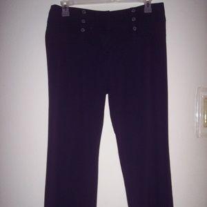 Joe B Navy Flare Leg Pants Size 13